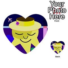 Mr. Sun Multi-purpose Cards (Heart)