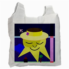 Mr. Sun Recycle Bag (Two Side)