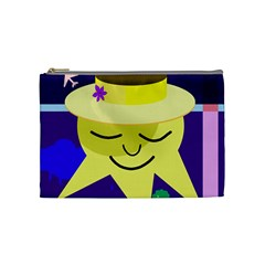 Mr. Sun Cosmetic Bag (Medium)