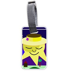 Mr. Sun Luggage Tags (Two Sides)