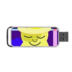 Mr. Sun Portable USB Flash (One Side)