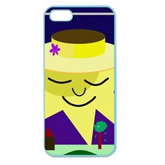 Mr. Sun Apple Seamless iPhone 5 Case (Color)