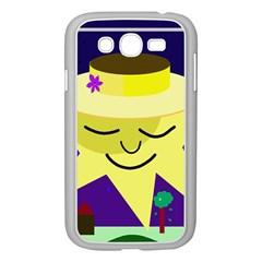 Mr. Sun Samsung Galaxy Grand DUOS I9082 Case (White)