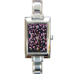 Japanese tree  Rectangle Italian Charm Watch