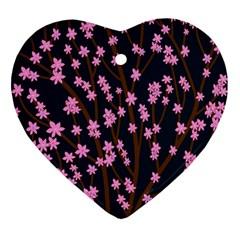 Japanese tree  Ornament (Heart)