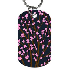 Japanese tree  Dog Tag (One Side)