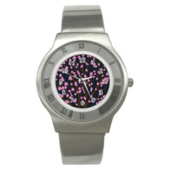 Japanese tree  Stainless Steel Watch