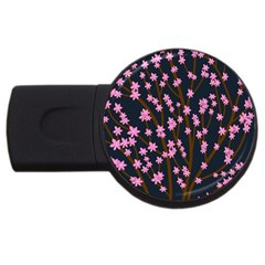 Japanese tree  USB Flash Drive Round (4 GB)