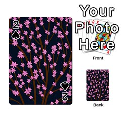 Japanese tree  Playing Cards 54 Designs