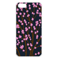 Japanese tree  Apple iPhone 5 Seamless Case (White)