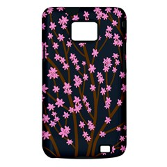 Japanese tree  Samsung Galaxy S II i9100 Hardshell Case (PC+Silicone)