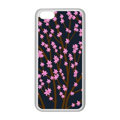 Japanese tree  Apple iPhone 5C Seamless Case (White)