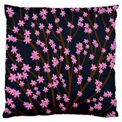 Japanese tree  Standard Flano Cushion Case (One Side)