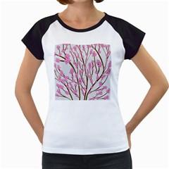 Cherry tree Women s Cap Sleeve T