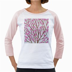 Cherry tree Girly Raglans