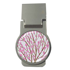 Cherry tree Money Clips (Round)