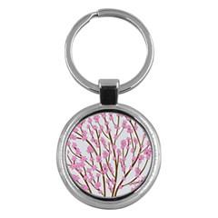 Cherry tree Key Chains (Round)