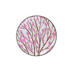 Cherry tree Hat Clip Ball Marker (4 pack)