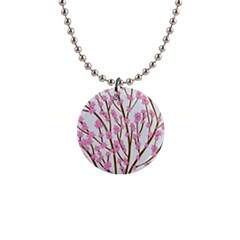 Cherry tree Button Necklaces