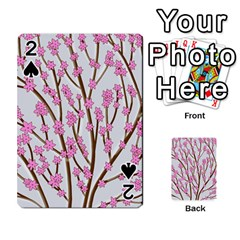 Cherry tree Playing Cards 54 Designs