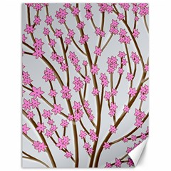 Cherry tree Canvas 12  x 16