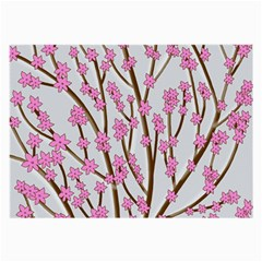 Cherry tree Large Glasses Cloth (2-Side)