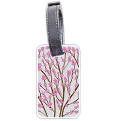 Cherry tree Luggage Tags (One Side)