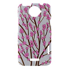 Cherry tree HTC One X Hardshell Case