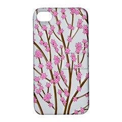 Cherry tree Apple iPhone 4/4S Hardshell Case with Stand