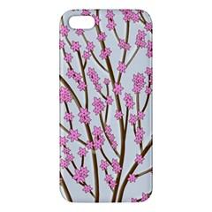 Cherry tree Apple iPhone 5 Premium Hardshell Case