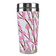 Cherry tree Stainless Steel Travel Tumblers