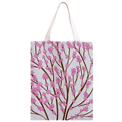 Cherry tree Classic Light Tote Bag