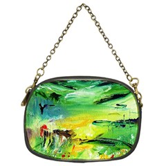 Abstract Landscape Chain Purses (one Side)