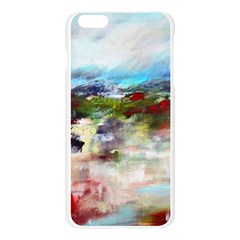 red abstract landscape Apple Seamless iPhone 6 Plus/6S Plus Case (Transparent)
