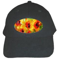 Sunflowers  Black Cap