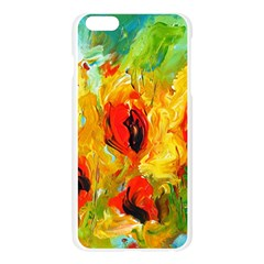 Sunflowers  Apple Seamless iPhone 6 Plus/6S Plus Case (Transparent)