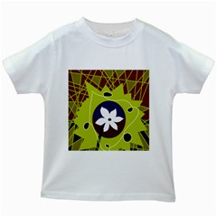 Big bang Kids White T-Shirts