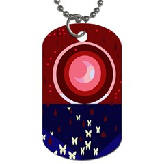 Techno  Dog Tag (Two Sides)