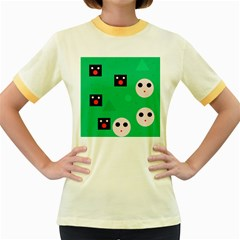 Audience  Women s Fitted Ringer T-Shirts