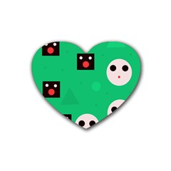 Audience  Rubber Coaster (Heart)