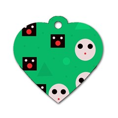 Audience  Dog Tag Heart (One Side)