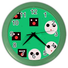 Audience  Color Wall Clocks