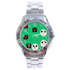 Audience  Stainless Steel Analogue Watch