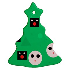 Audience  Christmas Tree Ornament (2 Sides)