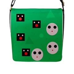 Audience  Flap Messenger Bag (L)