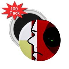 Secret 2.25  Magnets (100 pack)