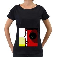 Secret Women s Loose-Fit T-Shirt (Black)