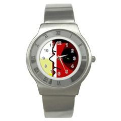 Secret Stainless Steel Watch