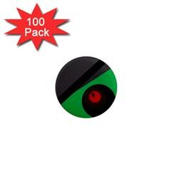 Billiard  1  Mini Magnets (100 pack)