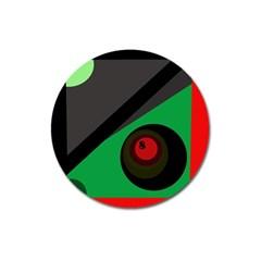 Billiard  Magnet 3  (Round)